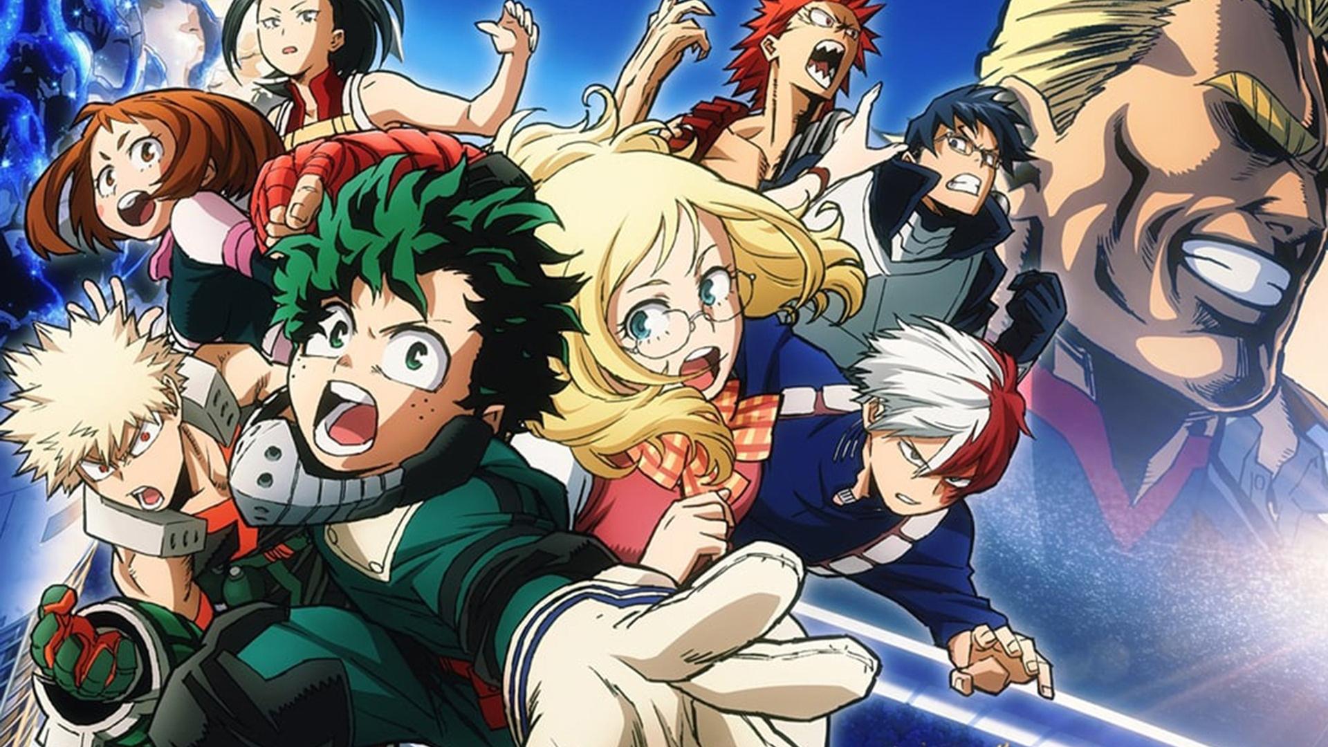 My Hero Academia อนิเมะแนวฮีโร่ ที่คุณต้องดู